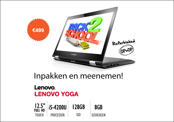 Lenovo aanbieding